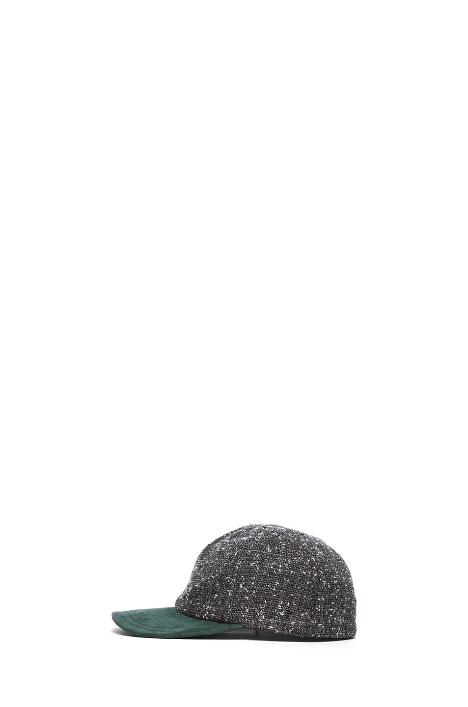 Image 3 of Eugenia Kim Darien Baseball Cap in Charcoal Tweed