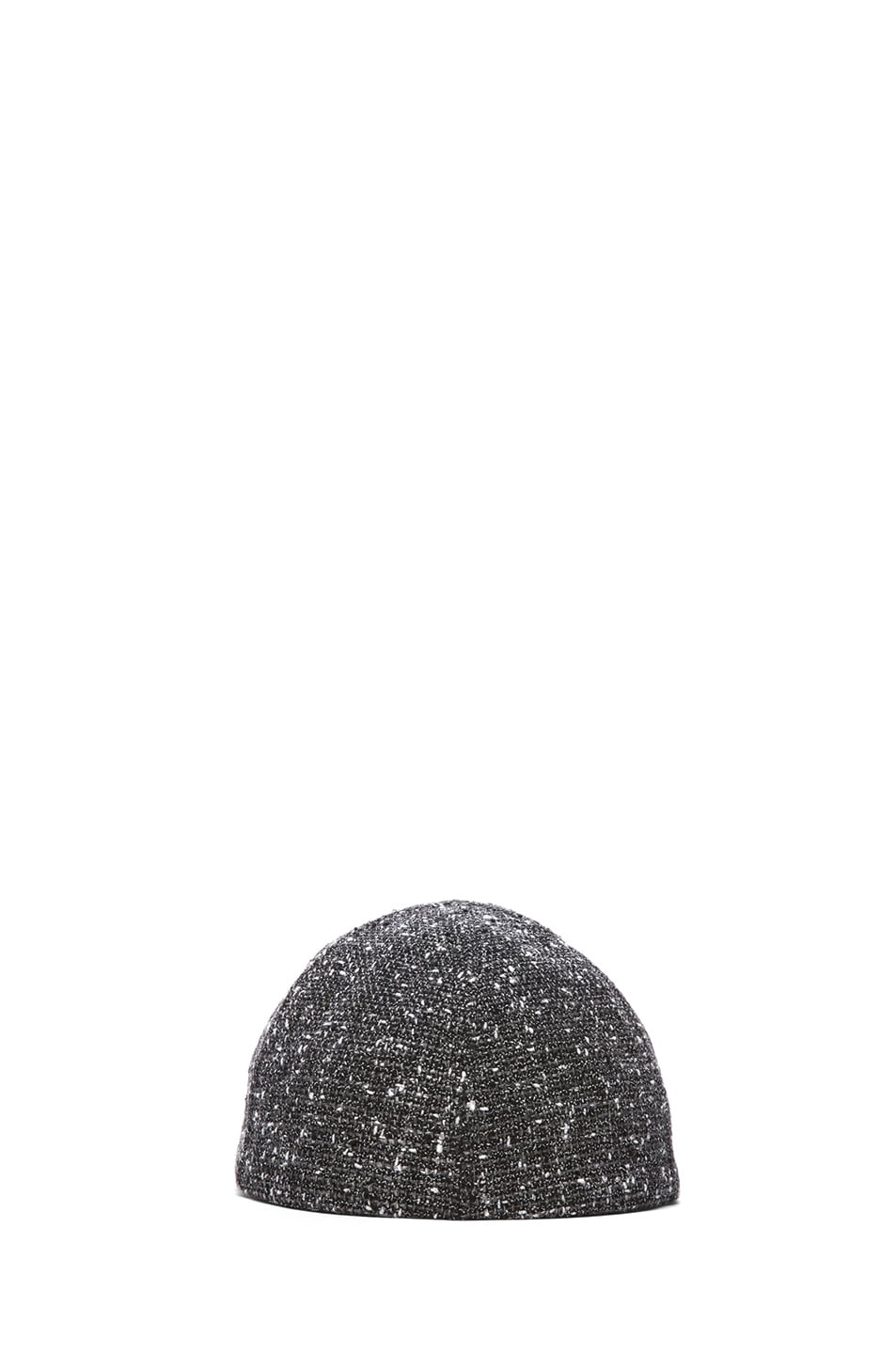 Image 4 of Eugenia Kim Darien Baseball Cap in Charcoal Tweed