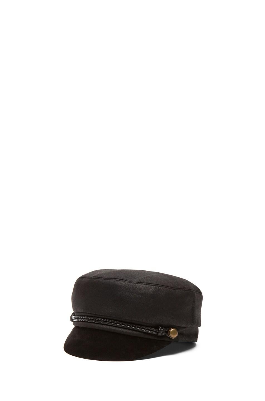 Image 2 of Eugenia Kim Elyse Mod Cap in Black