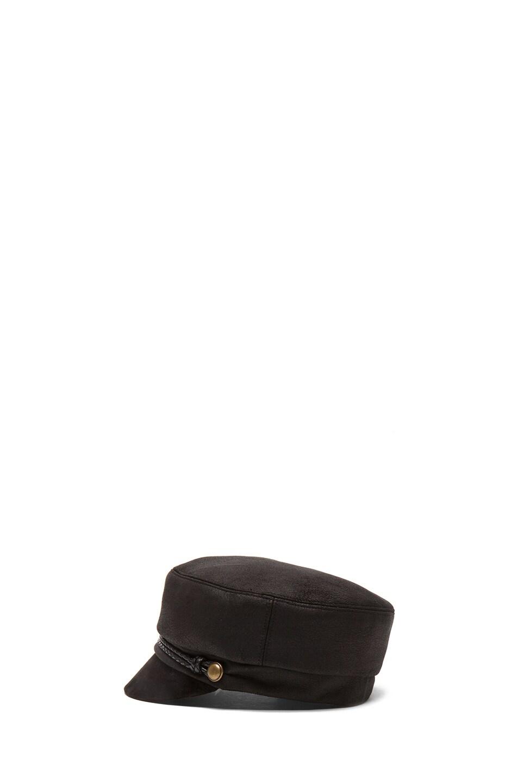 Image 3 of Eugenia Kim Elyse Mod Cap in Black