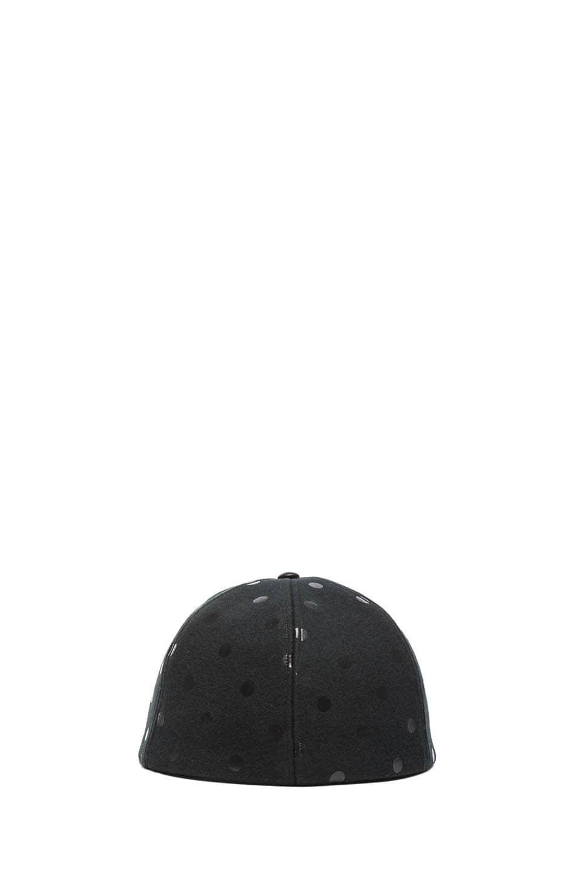 Image 4 of Eugenia Kim Darien Mixed Leather Cap in Black