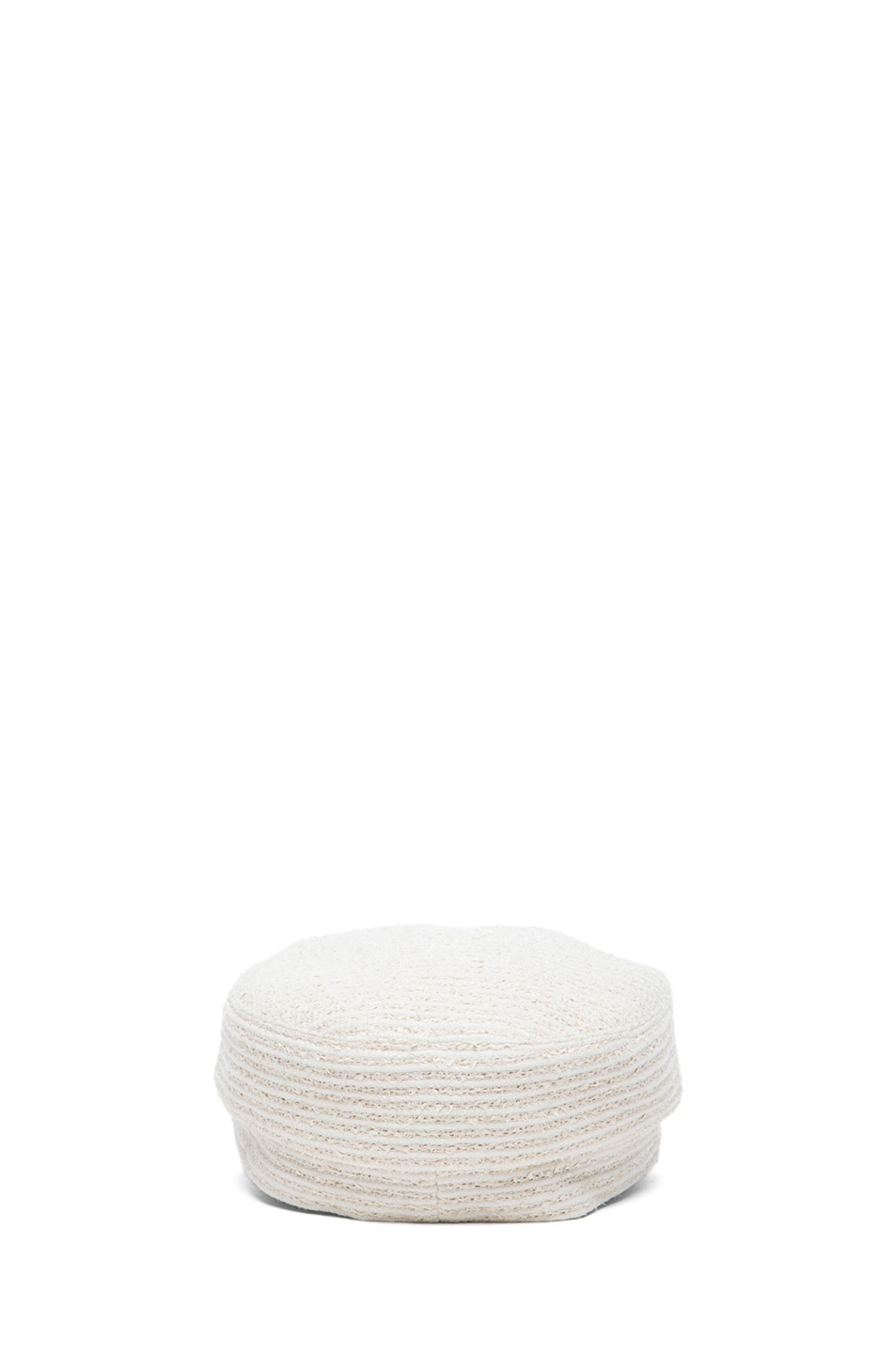 Image 4 of Eugenia Kim Elyse Mod Cap in Ivory & White