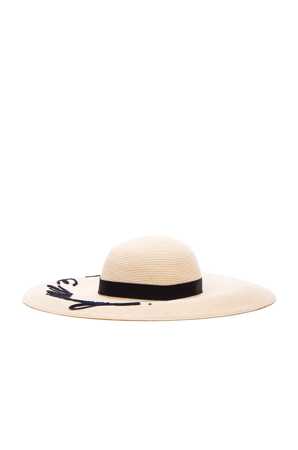 Image 4 of Eugenia Kim Bunny Leave A Message Hat in Ivory