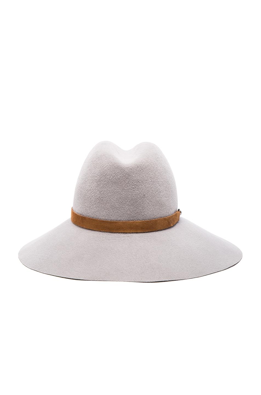 Image 4 of Eugenia Kim Farrah Hat in Light Grey