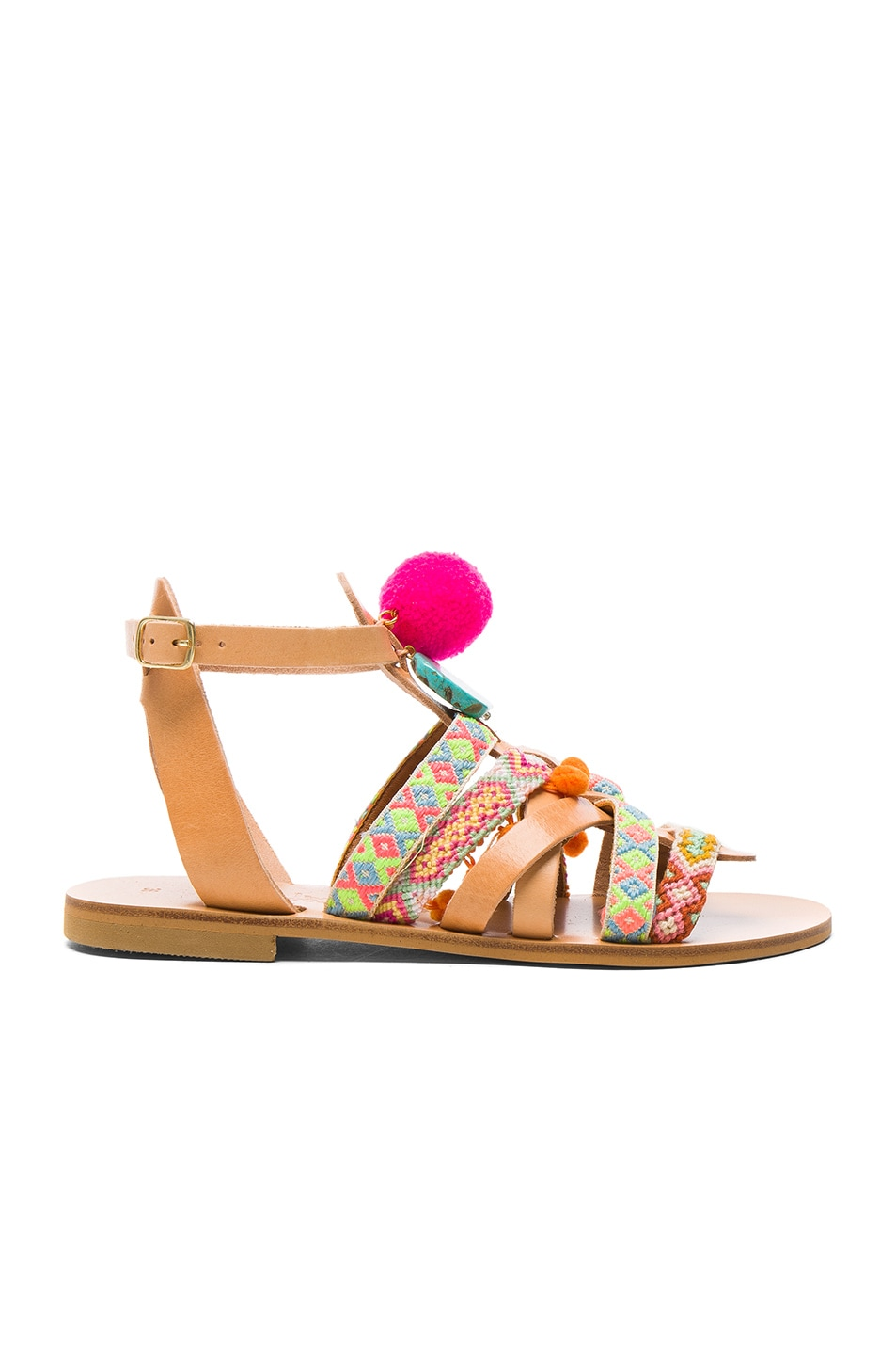 Image 2 of Elina Linardaki Kokomo Sandals in Multi
