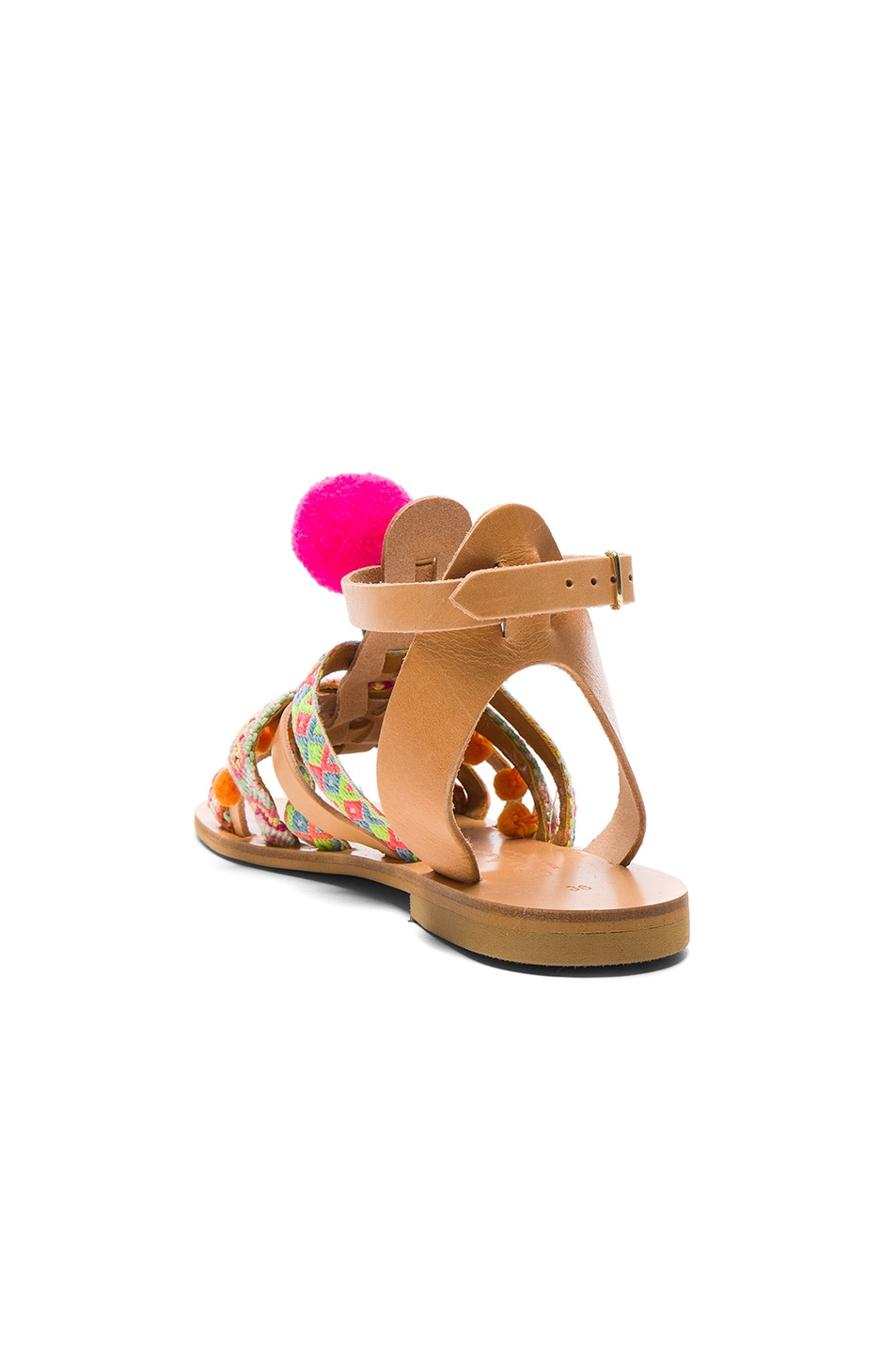 Image 4 of Elina Linardaki Kokomo Sandals in Multi
