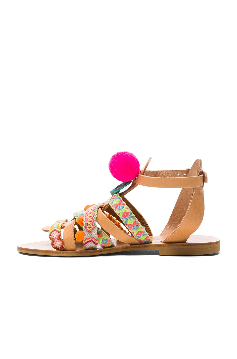 Image 5 of Elina Linardaki Kokomo Sandals in Multi