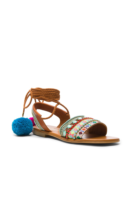 Image 3 of Elina Linardaki LA Lover Sandals in Multi