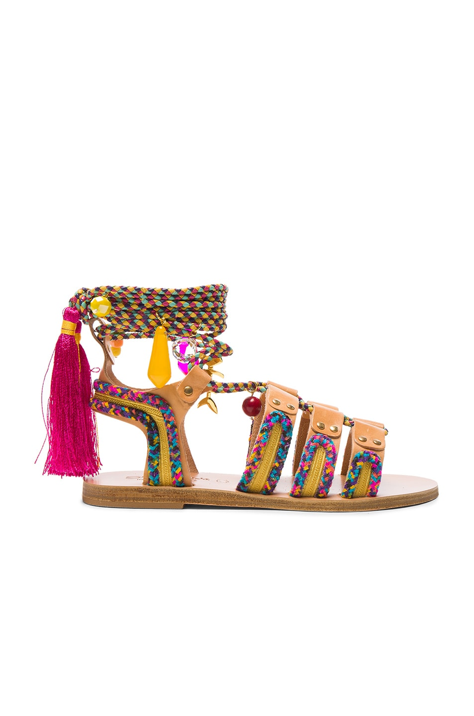 Image 2 of Elina Linardaki Pisces Sandals in Multi