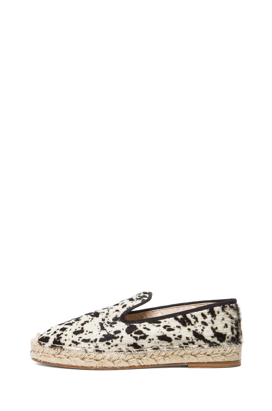 Image 1 of elysewalker los angeles Calf Hair Espadrilles in Gacela