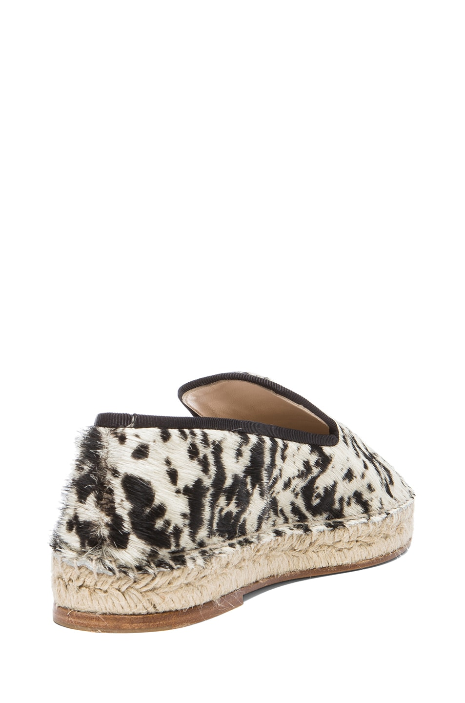 Image 3 of elysewalker los angeles Calf Hair Espadrilles in Gacela