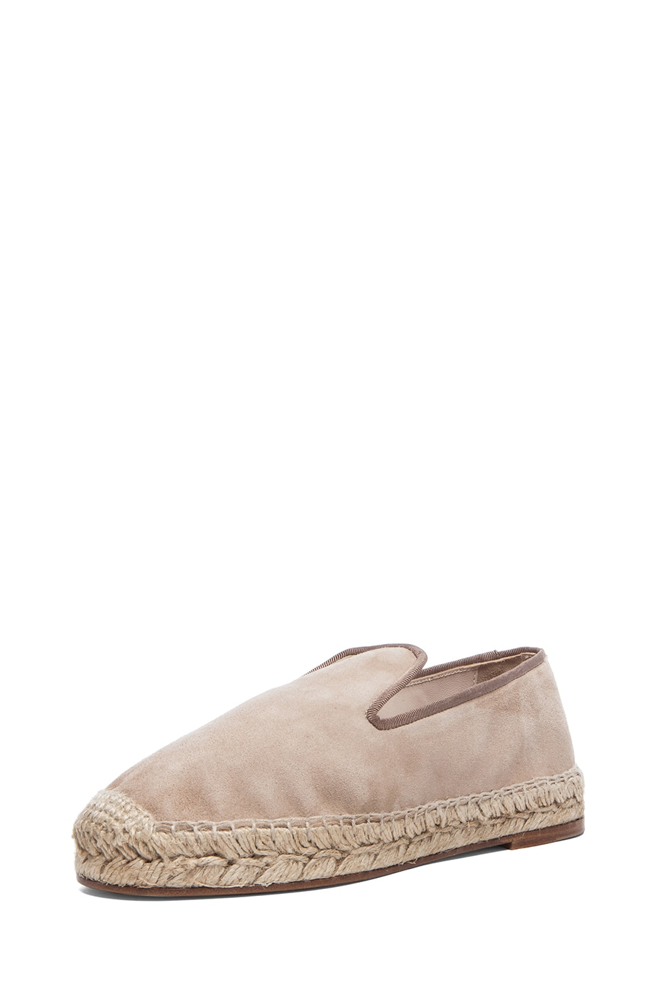 Image 2 of elysewalker los angeles Suede Espadrilles in Dune