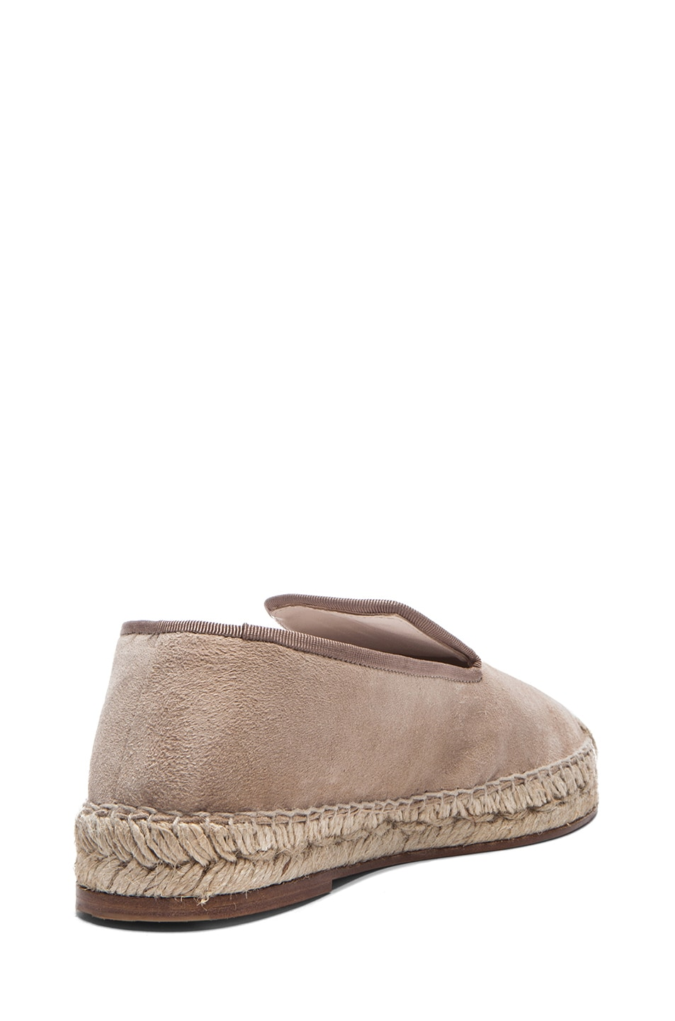Image 3 of elysewalker los angeles Suede Espadrilles in Dune