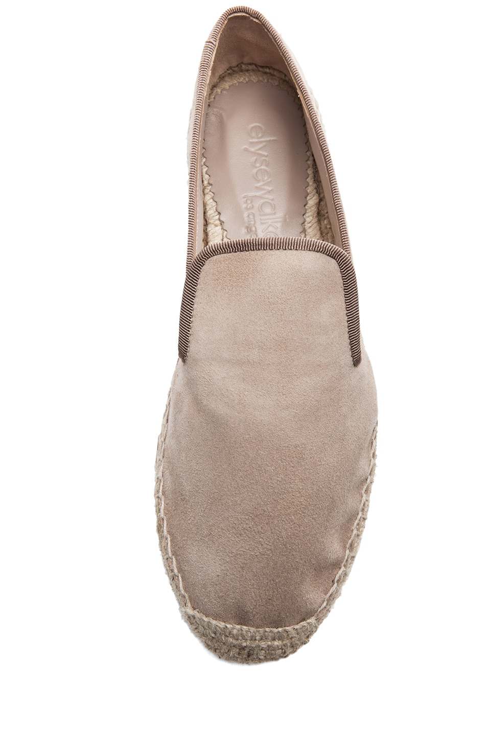 Image 4 of elysewalker los angeles Suede Espadrilles in Dune