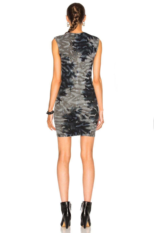 Image 4 of Enza Costa Rib Sleeveless Mini Dress in Utility Patina