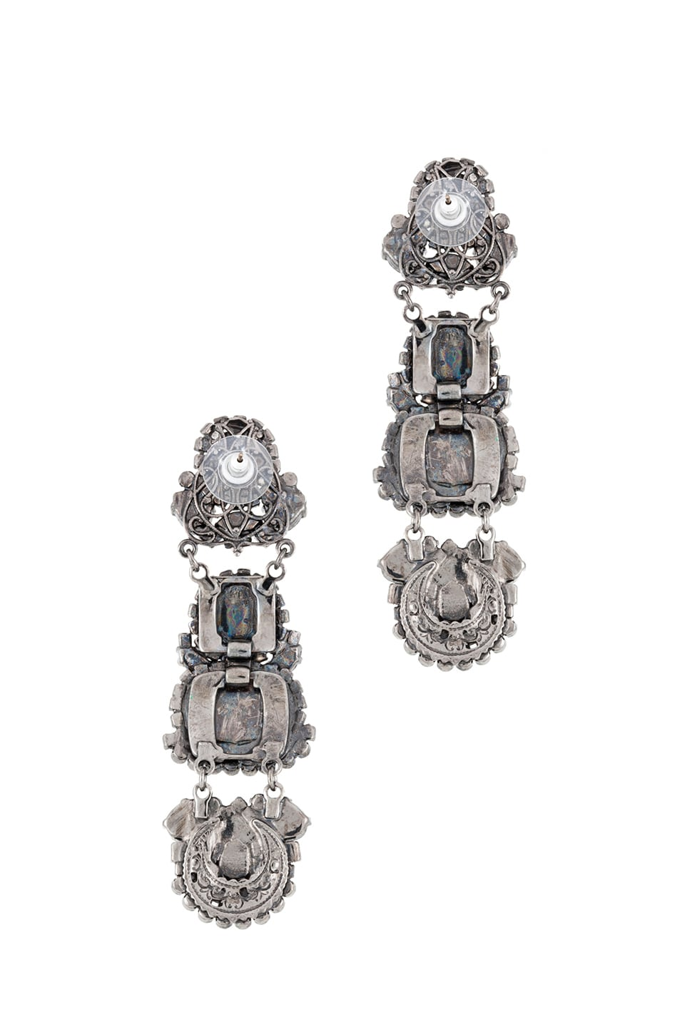 Image 3 of Erickson Beamon Modern Mogul Earring in Multi