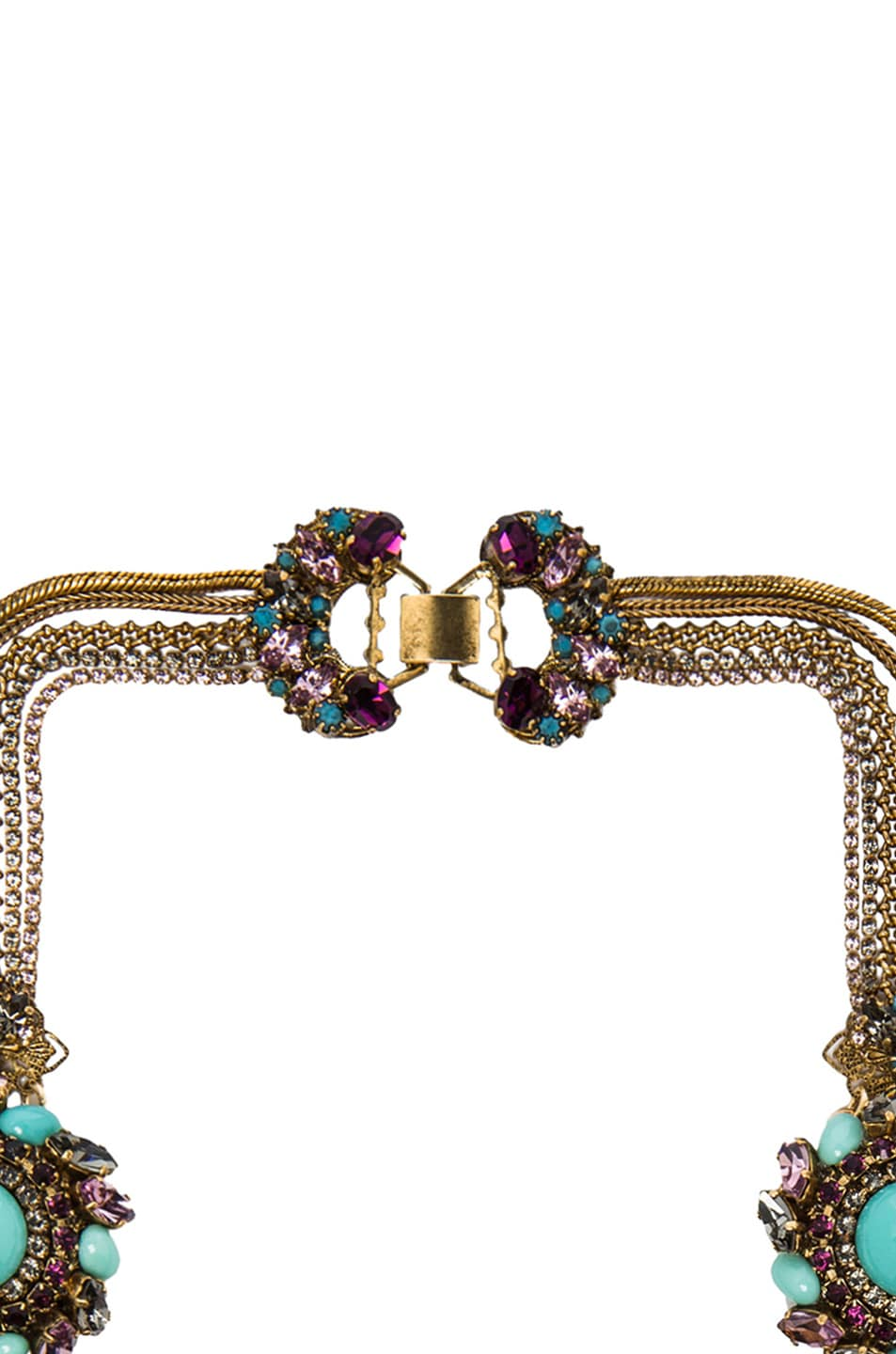 Image 2 of Erickson Beamon Girls on Film Necklace in Turquoise