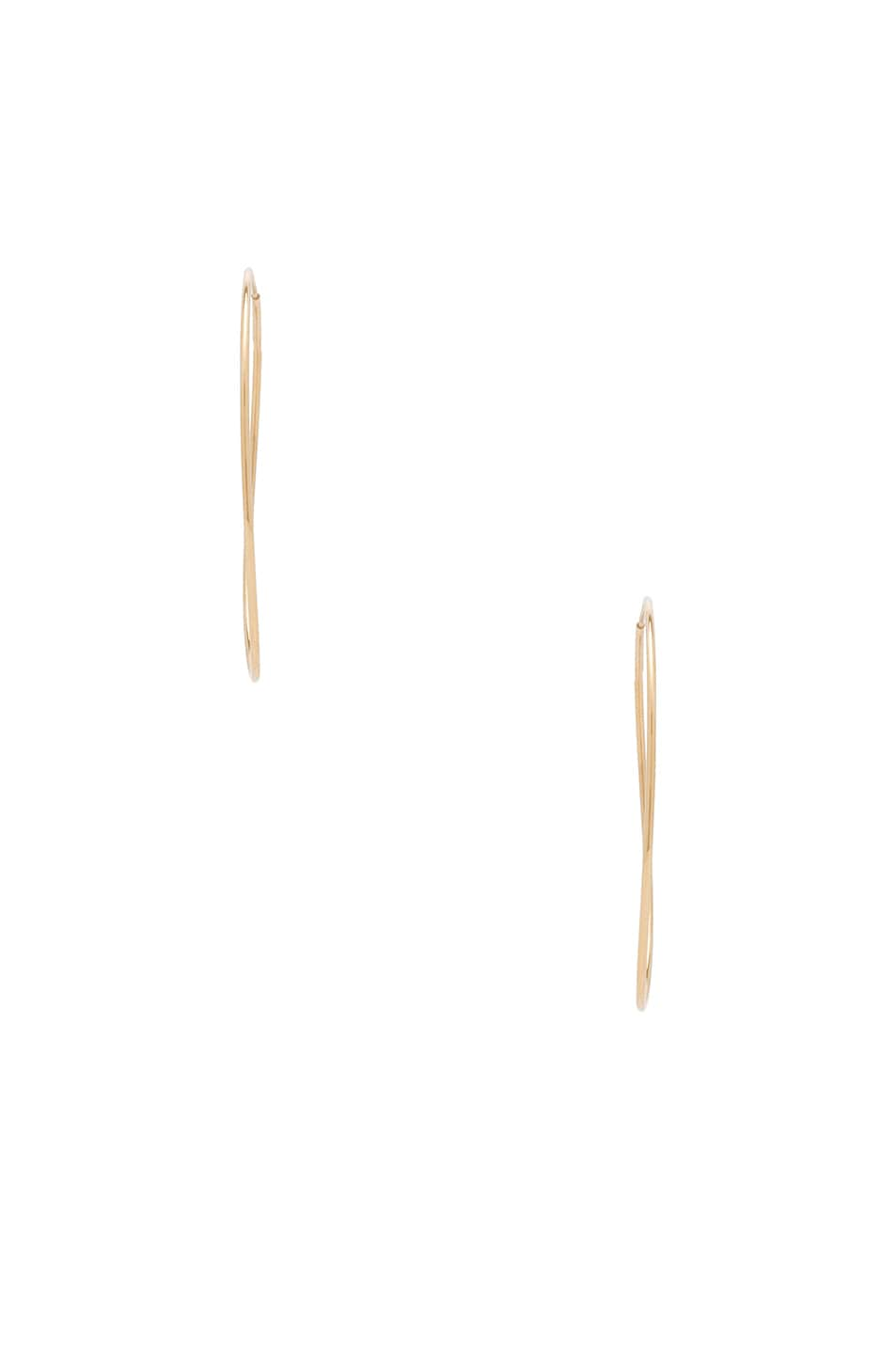Image 2 of ERTH 14K Gold Hoop II Earring in Gold