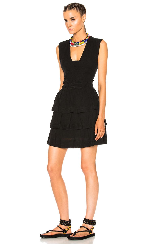 Image 2 of Isabel Marant Etoile Kali City Flou Dress in Black