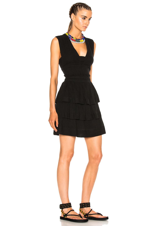 Image 3 of Isabel Marant Etoile Kali City Flou Dress in Black