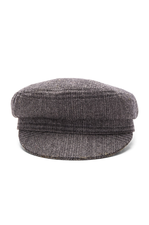 Image 1 of Isabel Marant Etoile Evie Flanelle Hat in Grey