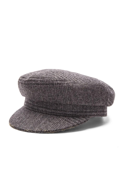 Image 2 of Isabel Marant Etoile Evie Flanelle Hat in Grey