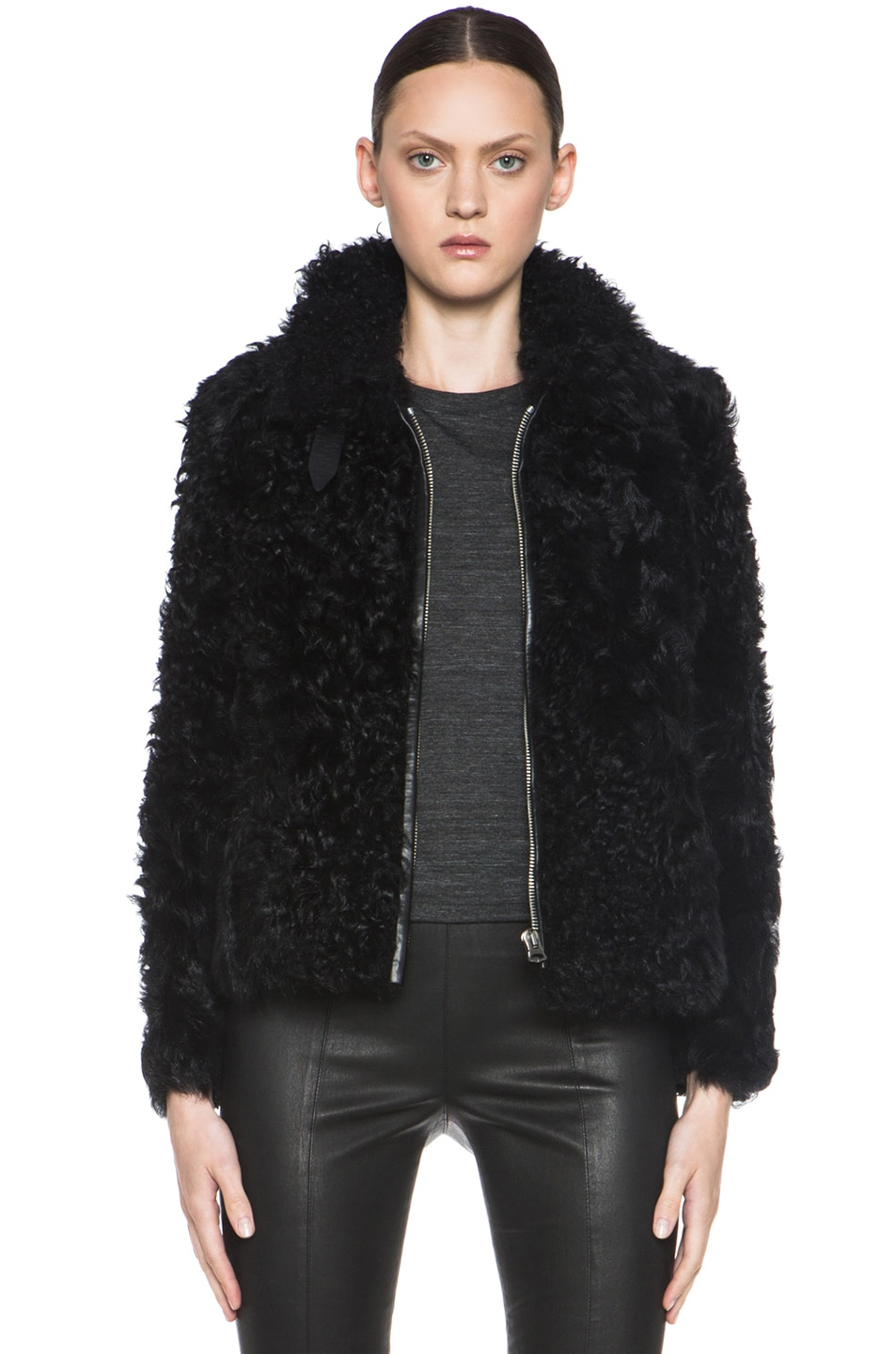Image 1 of Isabel Marant Etoile Anders Shepard Coat in Black
