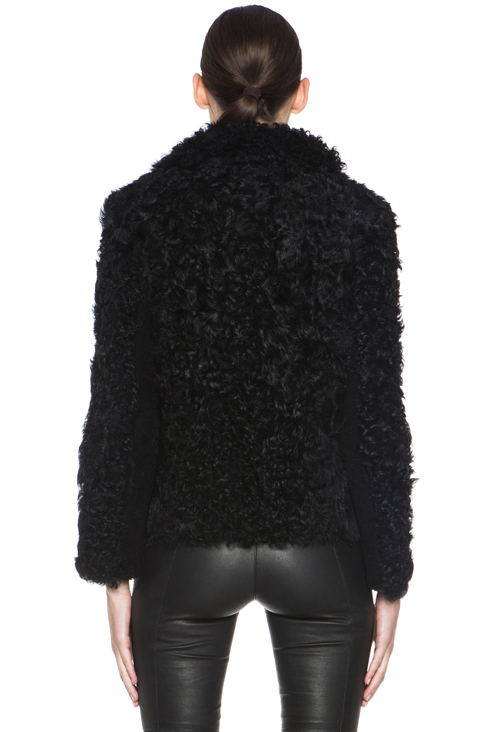 Image 5 of Isabel Marant Etoile Anders Shepard Coat in Black