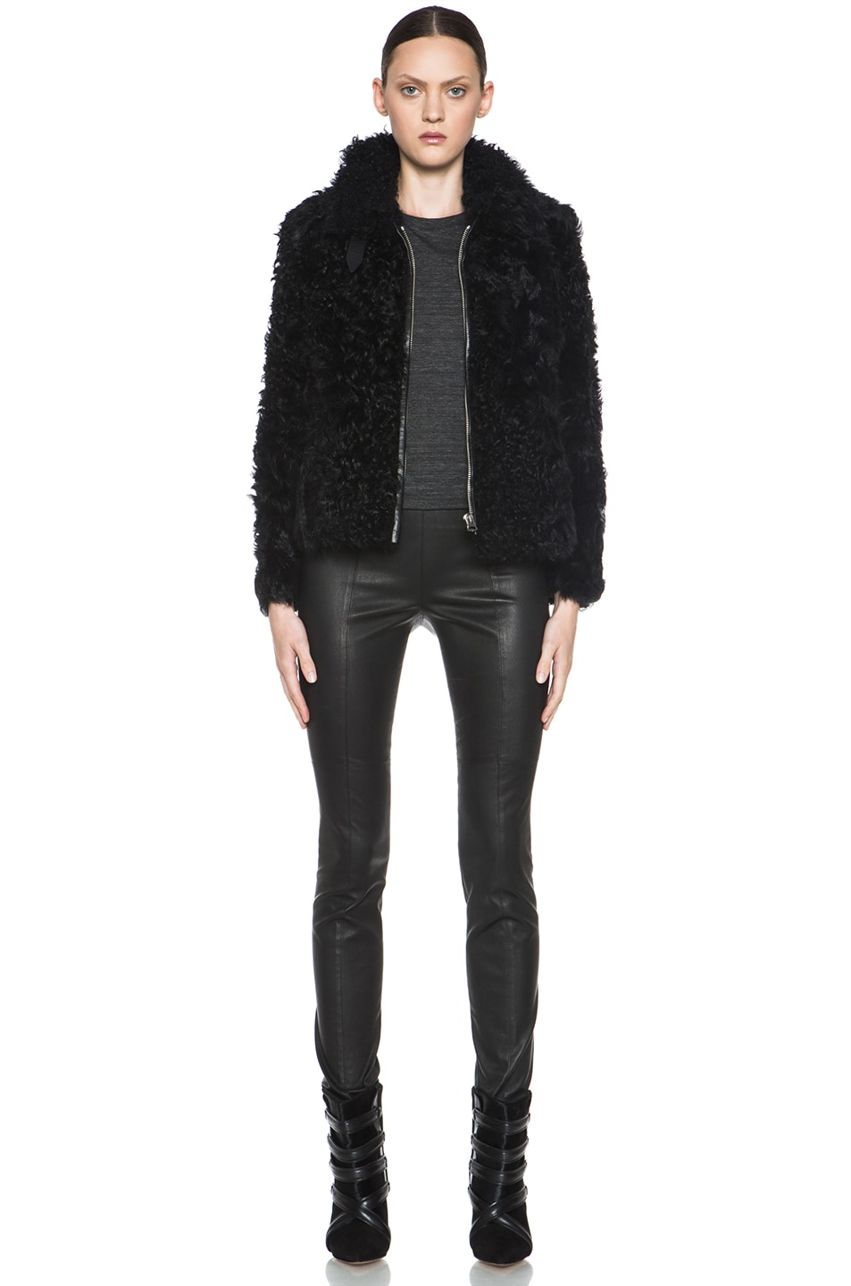 Image 6 of Isabel Marant Etoile Anders Shepard Coat in Black