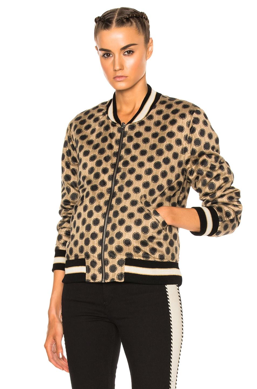 Image 3 of Isabel Marant Etoile Dabney Quilted Jacket in Ecru