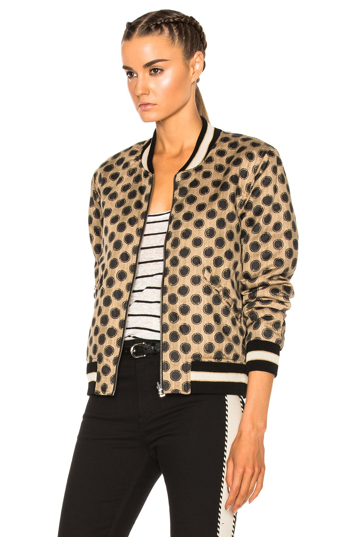 Image 4 of Isabel Marant Etoile Dabney Quilted Jacket in Ecru