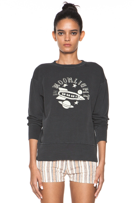 Image 1 of Isabel Marant Etoile Noah Sweatshirt in Charbon