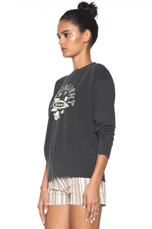 Image 2 of Isabel Marant Etoile Noah Sweatshirt in Charbon