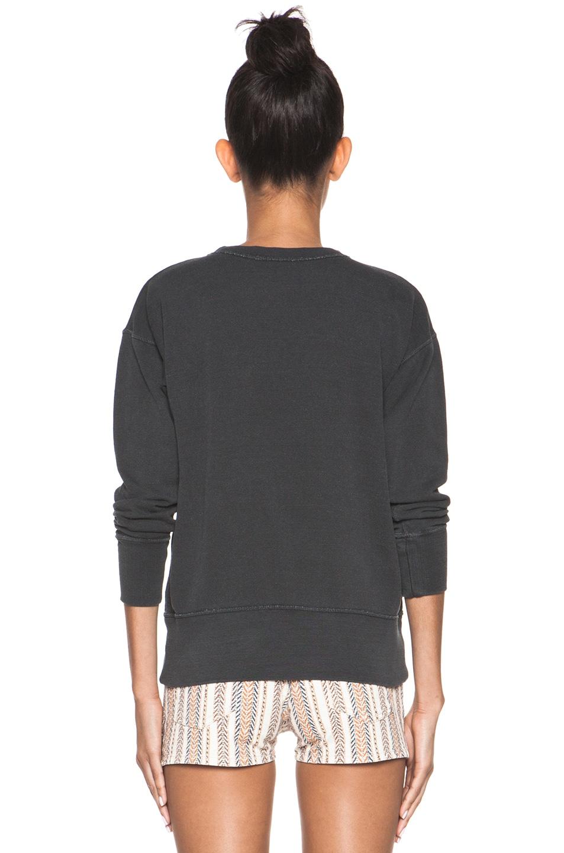 Image 4 of Isabel Marant Etoile Noah Sweatshirt in Charbon
