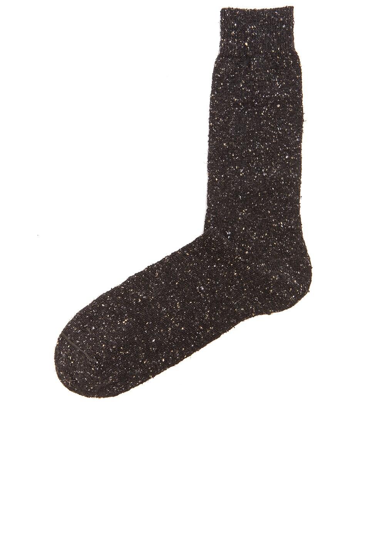 Image 2 of Isabel Marant Etoile Deemer Tweedy Socks in Anthracite