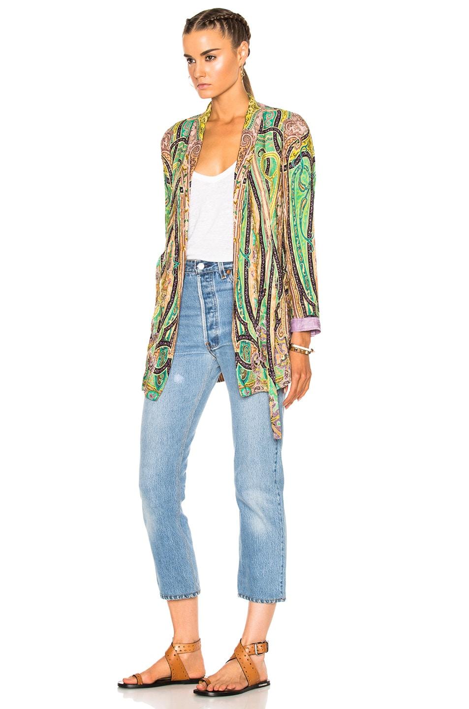 Image 3 of Etro Violante Printed Jacket in Multi