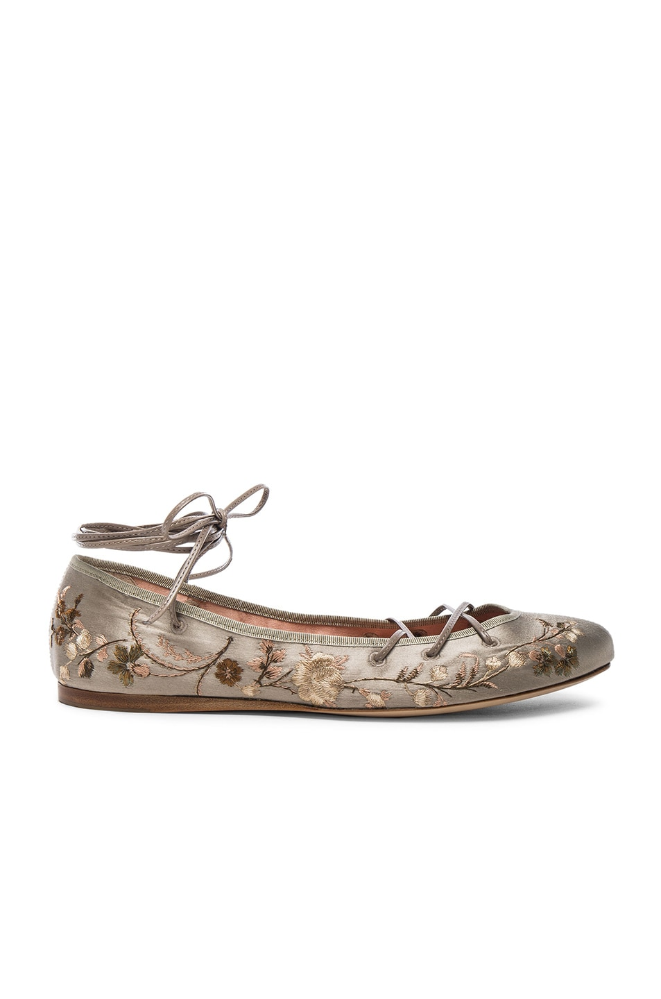 Image 1 of Etro Ballerina Flats in Taupe