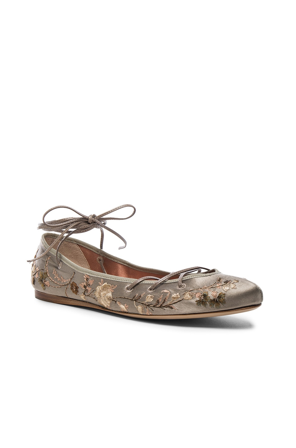 Image 2 of Etro Ballerina Flats in Taupe