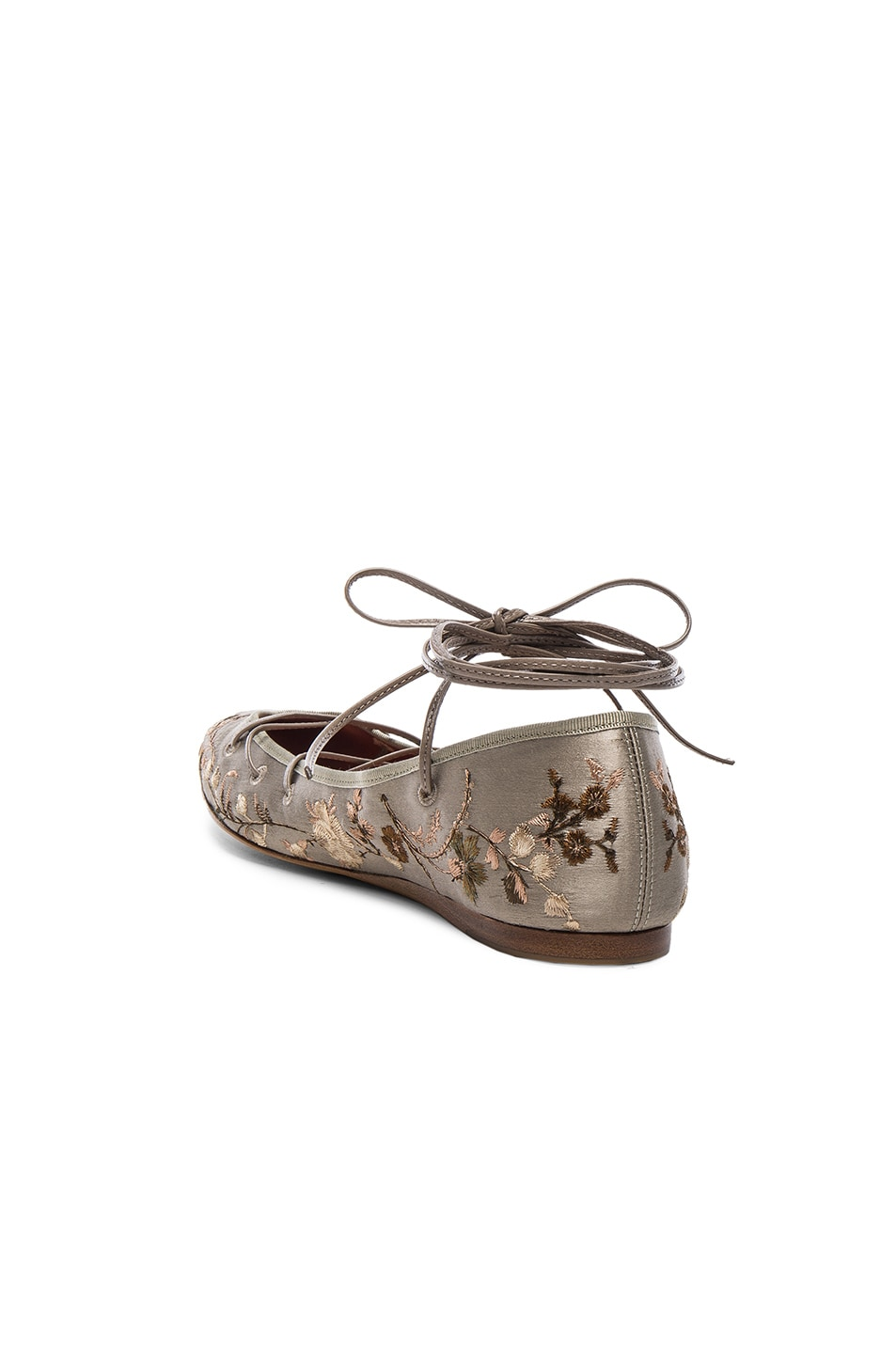 Image 3 of Etro Ballerina Flats in Taupe