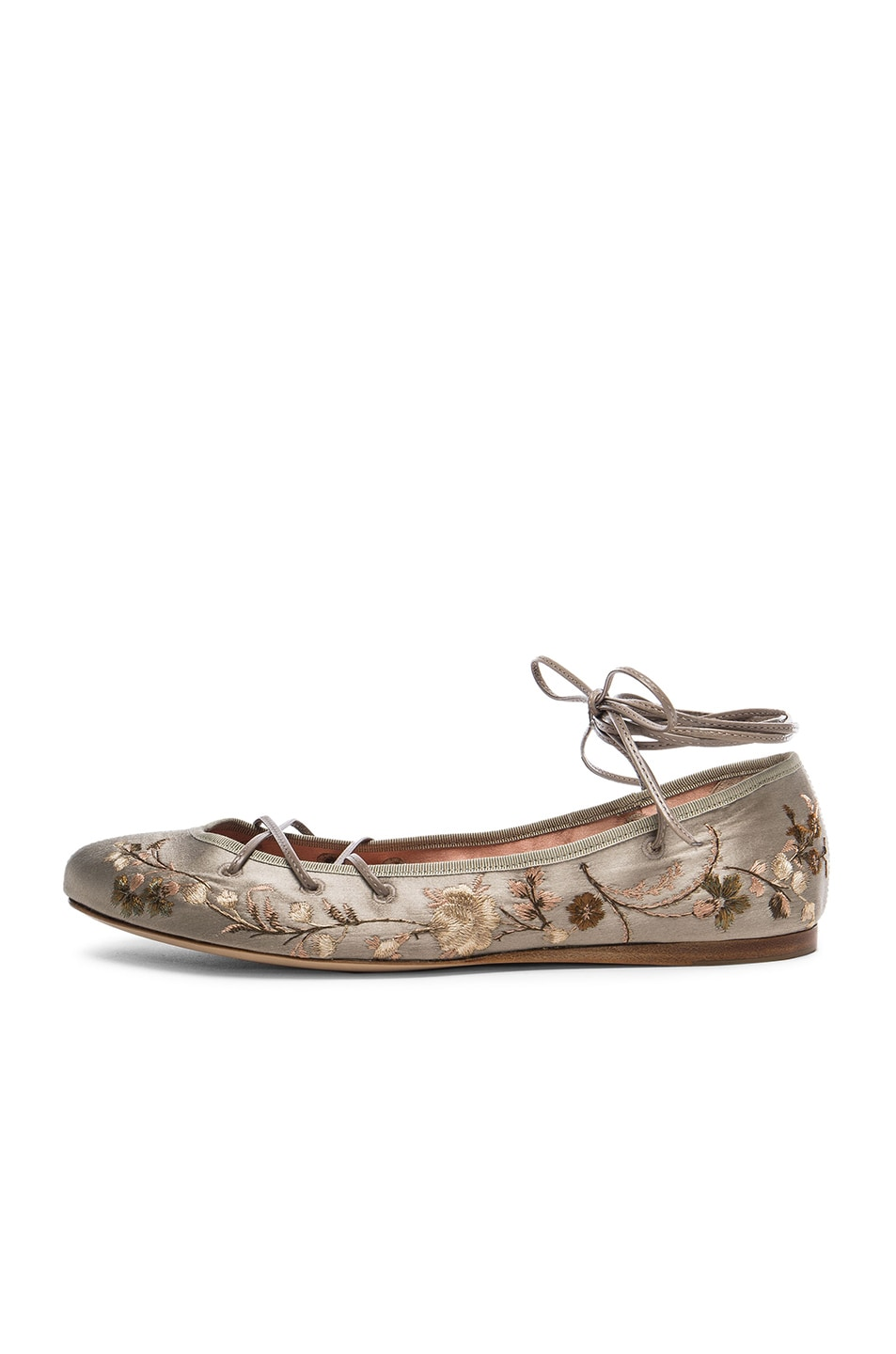 Image 5 of Etro Ballerina Flats in Taupe