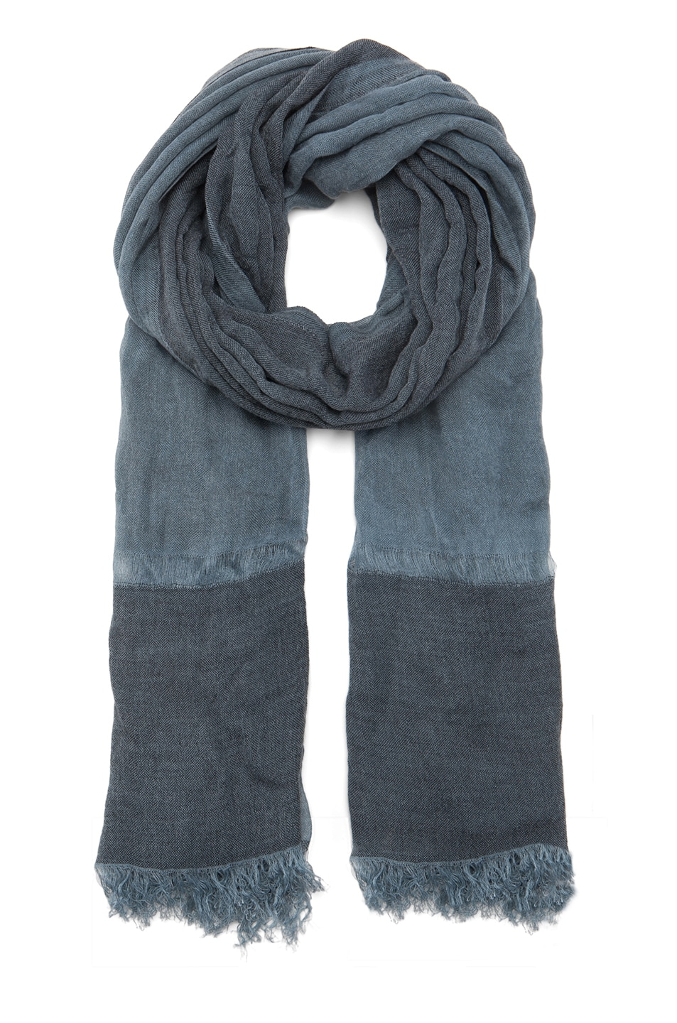 Image 1 of Faliero Sarti Cariddi Scarf in Blue & Black