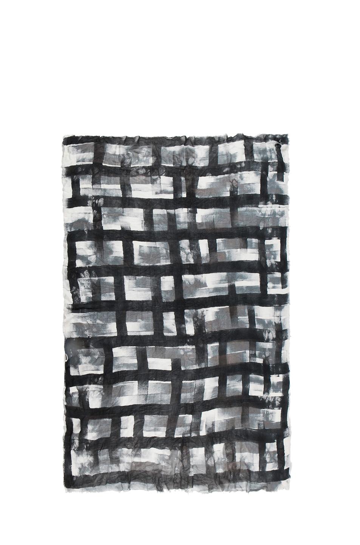Image 2 of Faliero Sarti Blove Scarf in Black & White