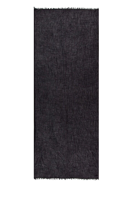 Image 2 of Faliero Sarti Dianetta Cashmere Silk Scarf in Black