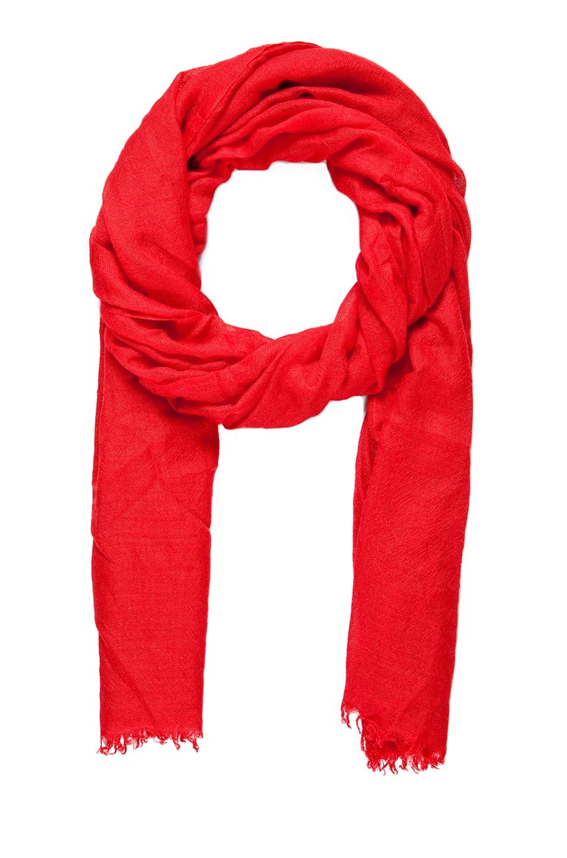 Image 1 of Faliero Sarti Dianetta Cashmere Silk Scarf in Red