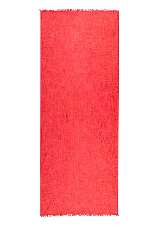 Image 2 of Faliero Sarti Dianetta Cashmere Silk Scarf in Red