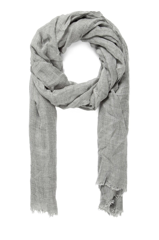 Image 1 of Faliero Sarti Dianetta M Cashmere Silk Scarf in Grey