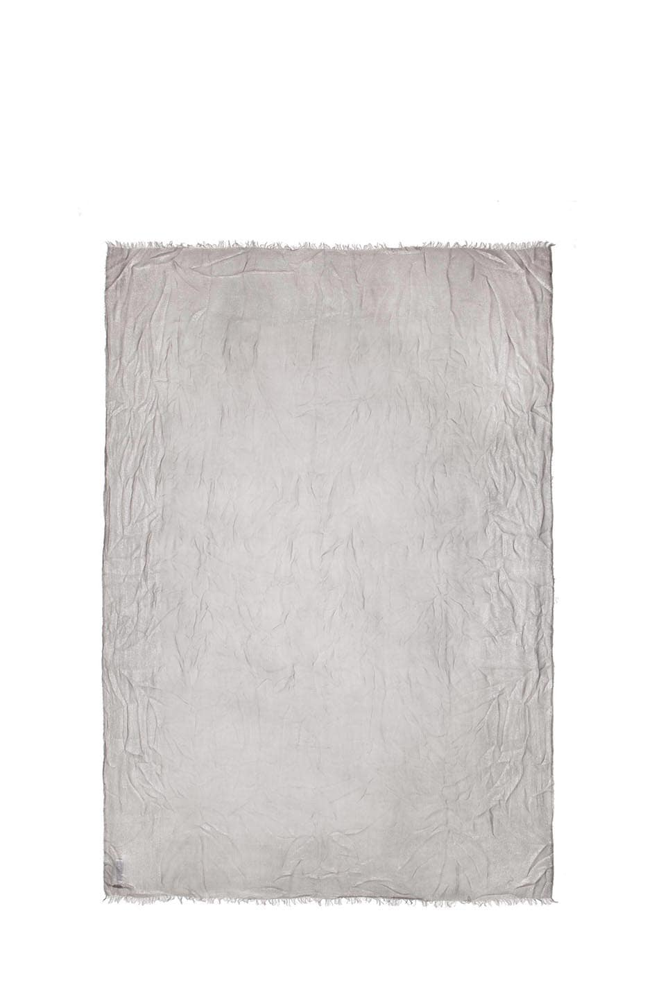 Image 2 of Faliero Sarti Mita Modal-Blend Scarf in Grey & Silver