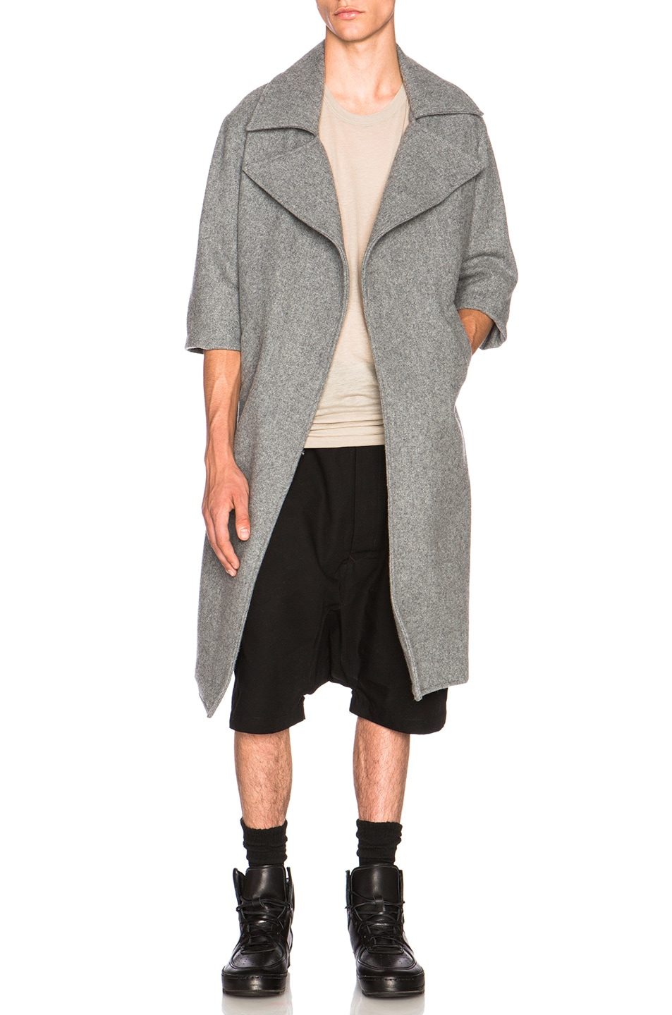 Fear of God Car Coat in Marble Grey | FWRD