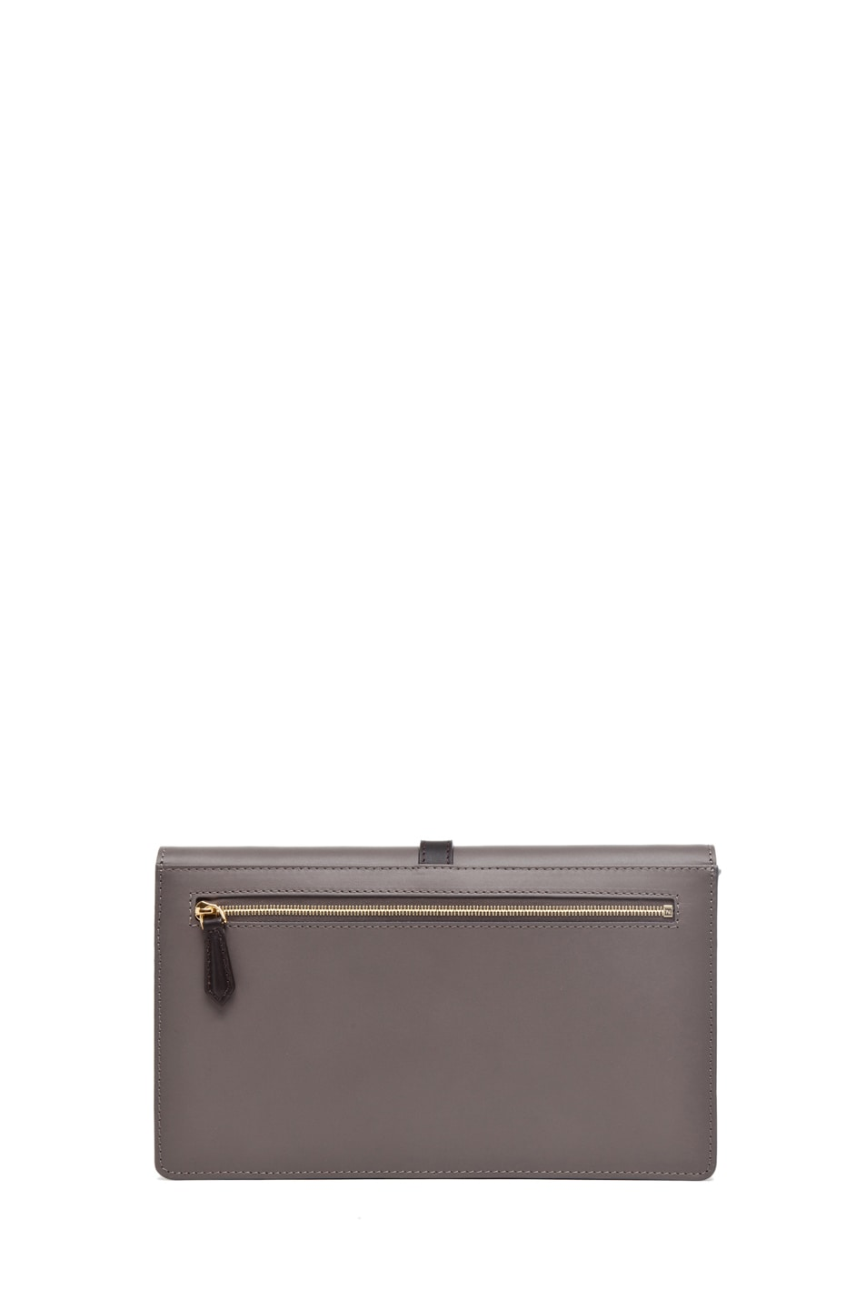 Image 2 of Fendi Envelope Purse in Grey Snake