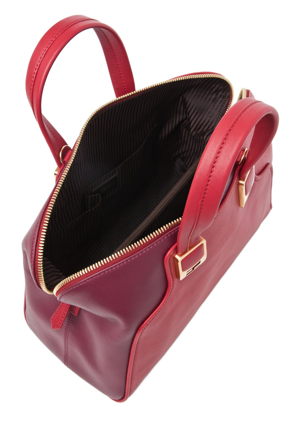 Image 4 of Fendi Chameleon Duffle in Red